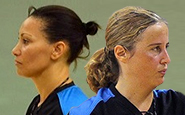 Sónia Teixeira e Samira Barrima
