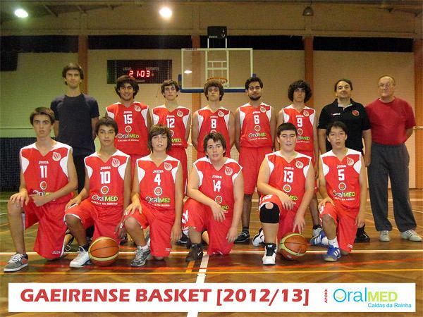 Escola de Basquetebol Gaeirense - Sub 18
