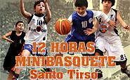 Santo Tirso acolhe as 12 Horas de Minibasquete