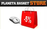 Planeta Basket Store Sistema dos Pontos