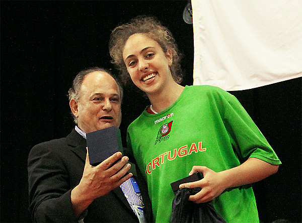 Manuel Fernandes e Maria Kostourkova